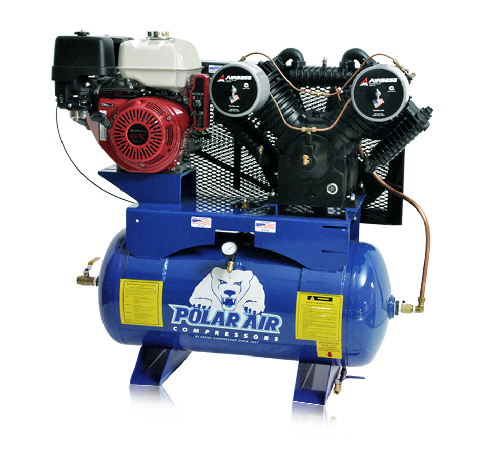 13HP Gas Piston Air Compressor with 60 Gallon tank