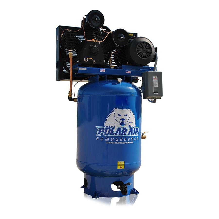 15hp piston air compressor with 120 gallon tank