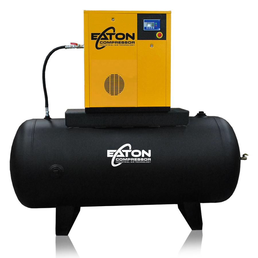 15 hp rotary screw air compressor 240 gallon tank
