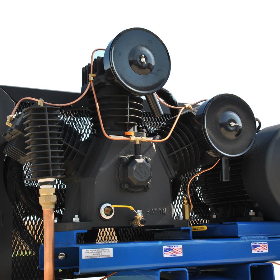15hp piston air compressor pump