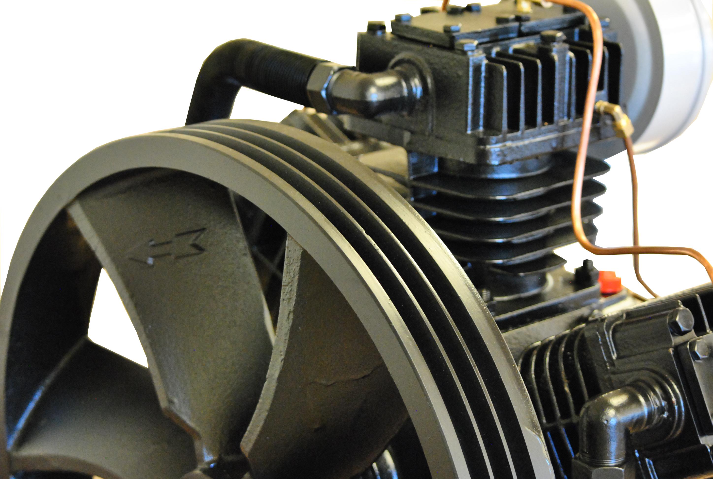 15 Hp Air Compressor Pump 3 Cylinder 2 Stage