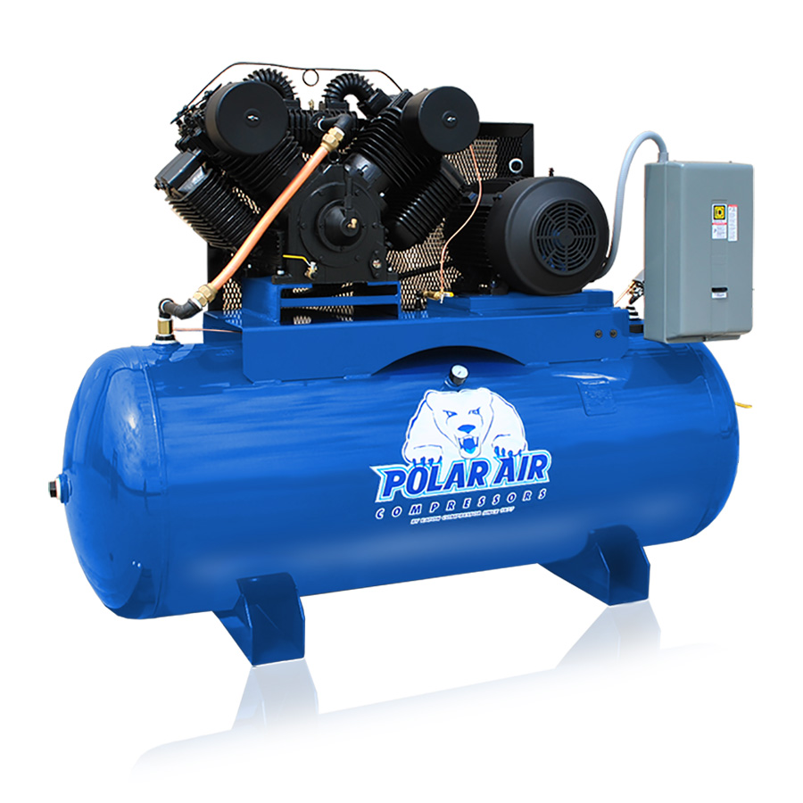 25hp piston air compressor with 240 gallon tank