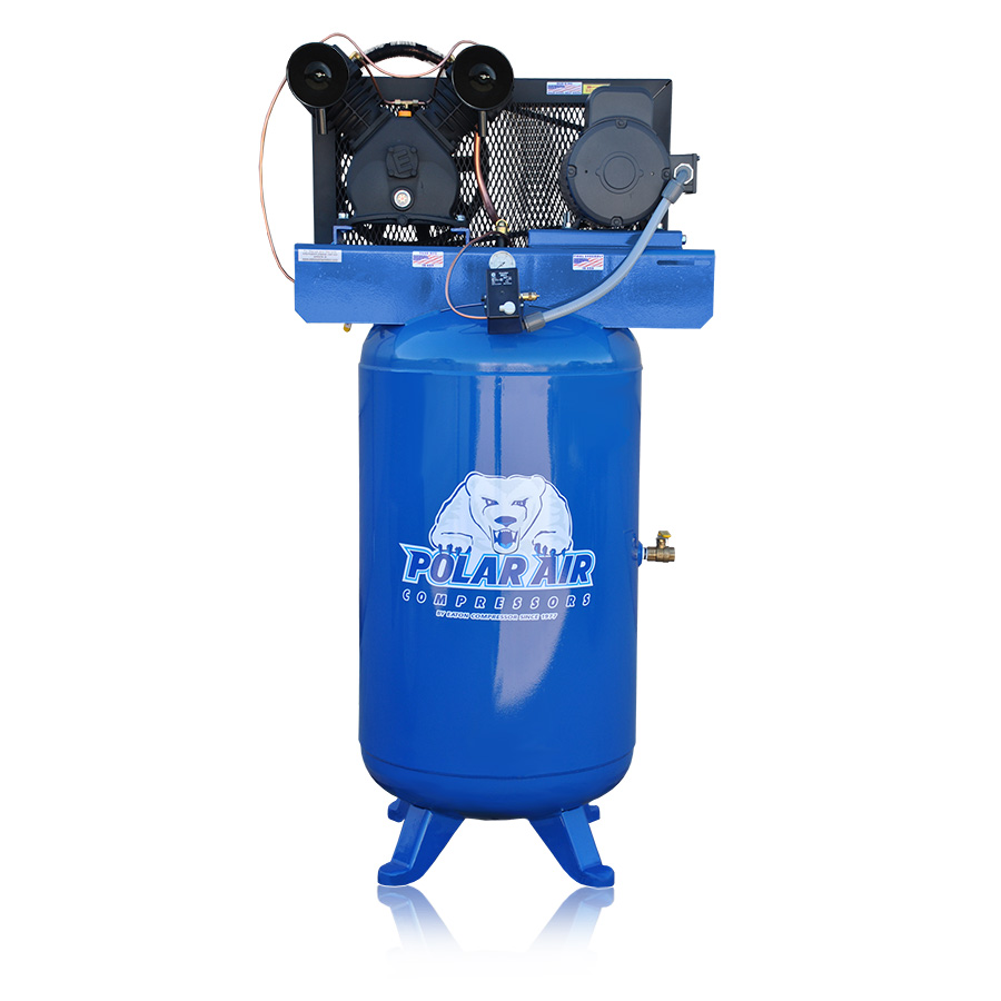 5HP Air-Compressor With 80 Gallon Tank