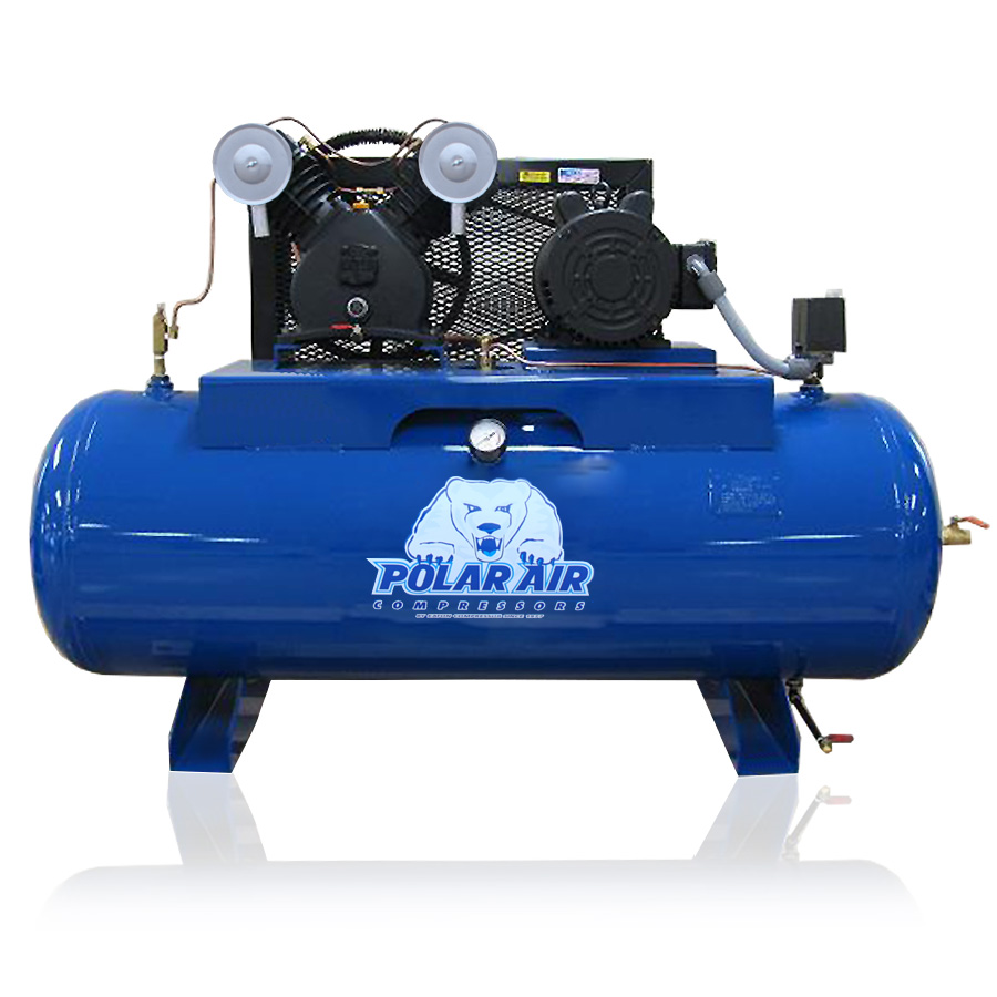 5hp piston air compressor with 80 gallon tank