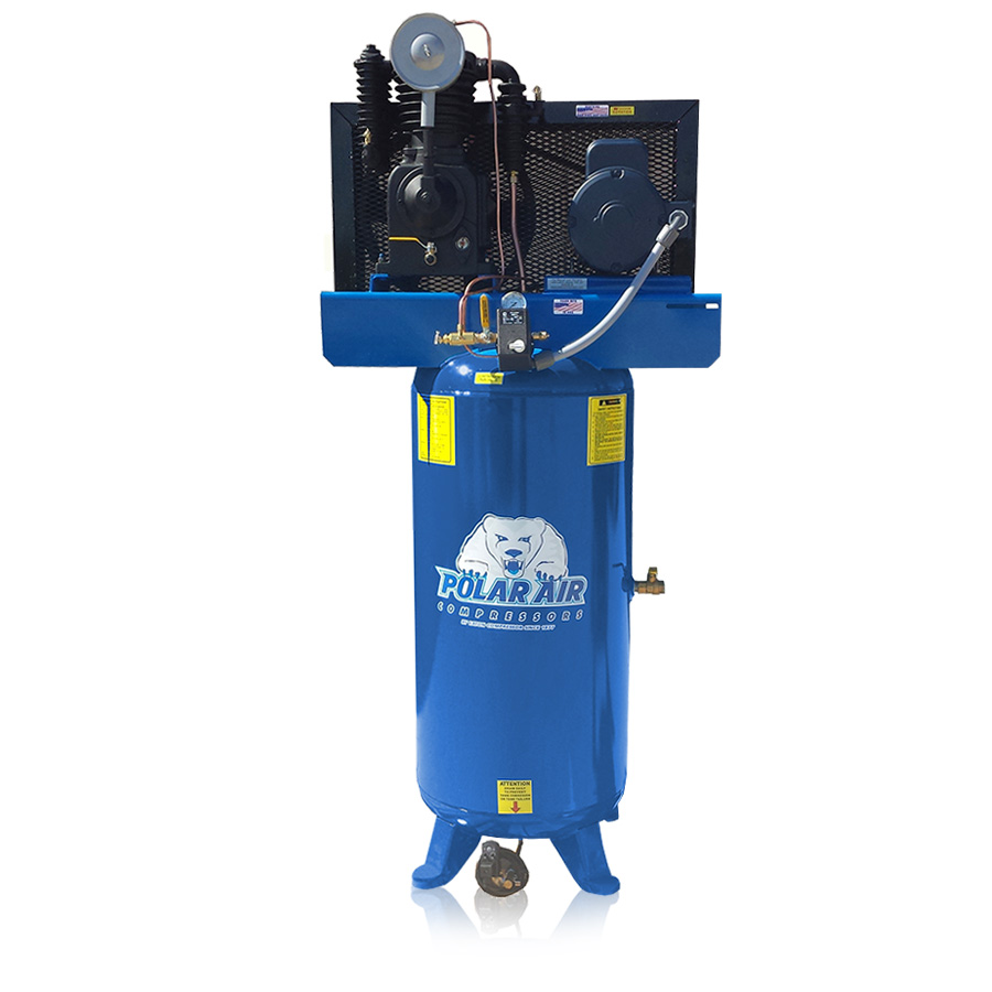 5HP Air Compressor with 80-Gallon Tank