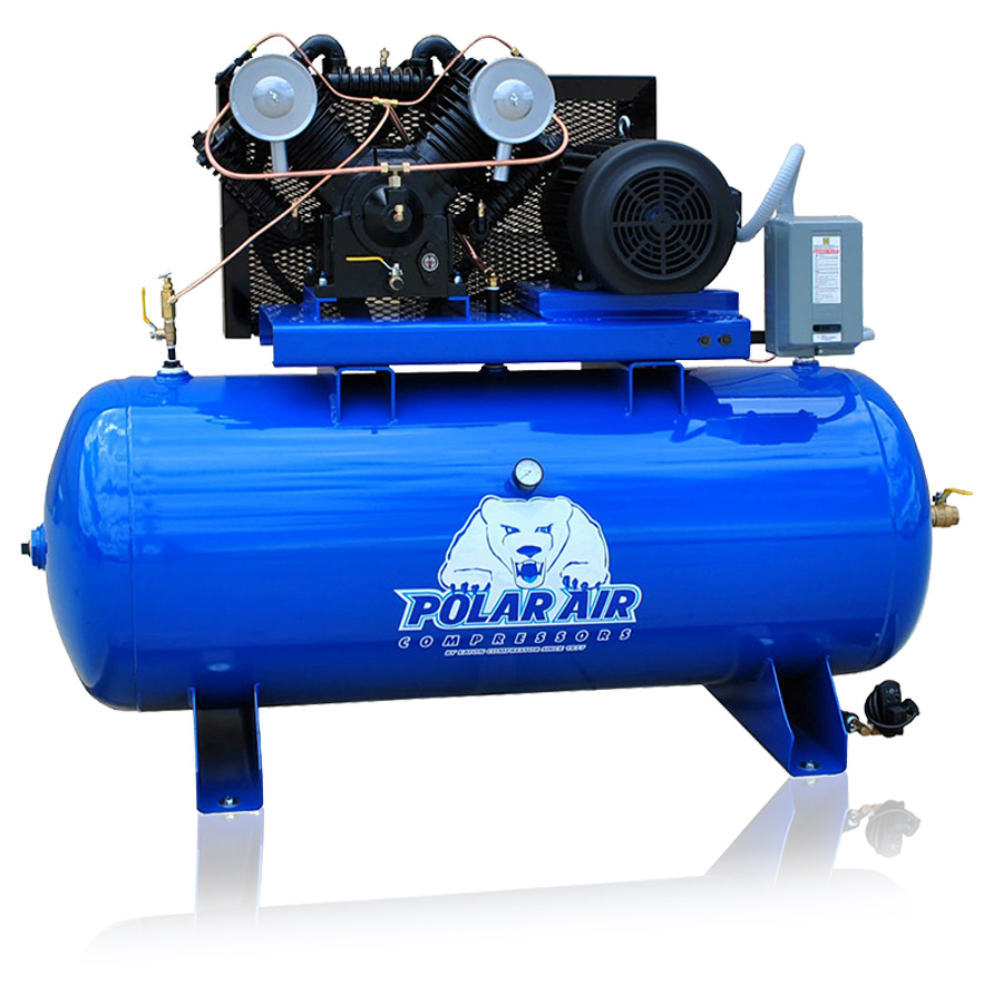 7.5HP Piston Air Compressor 80 Gallon tank