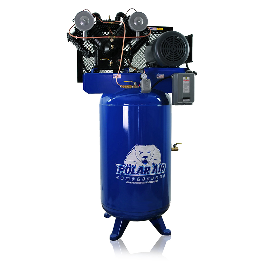 10hp piston air compressor with 80 gallon tank