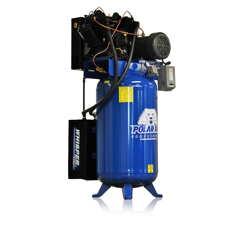 7.5hp quiet piston air compressor