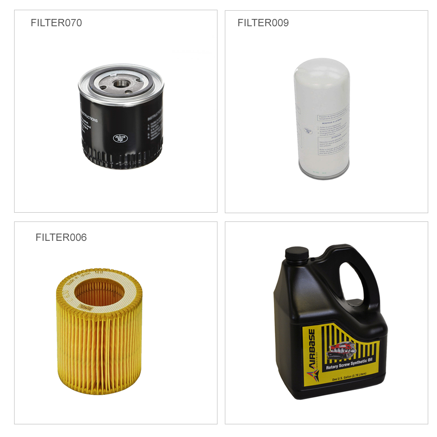 Maintenance Kit for 5-10 HP Rotary Screw Air Compressor