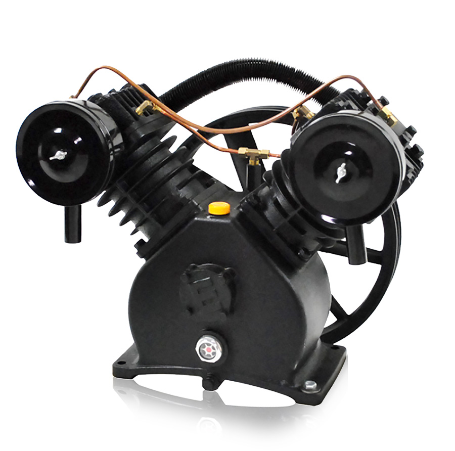2 cylinder Piston air compressor pump