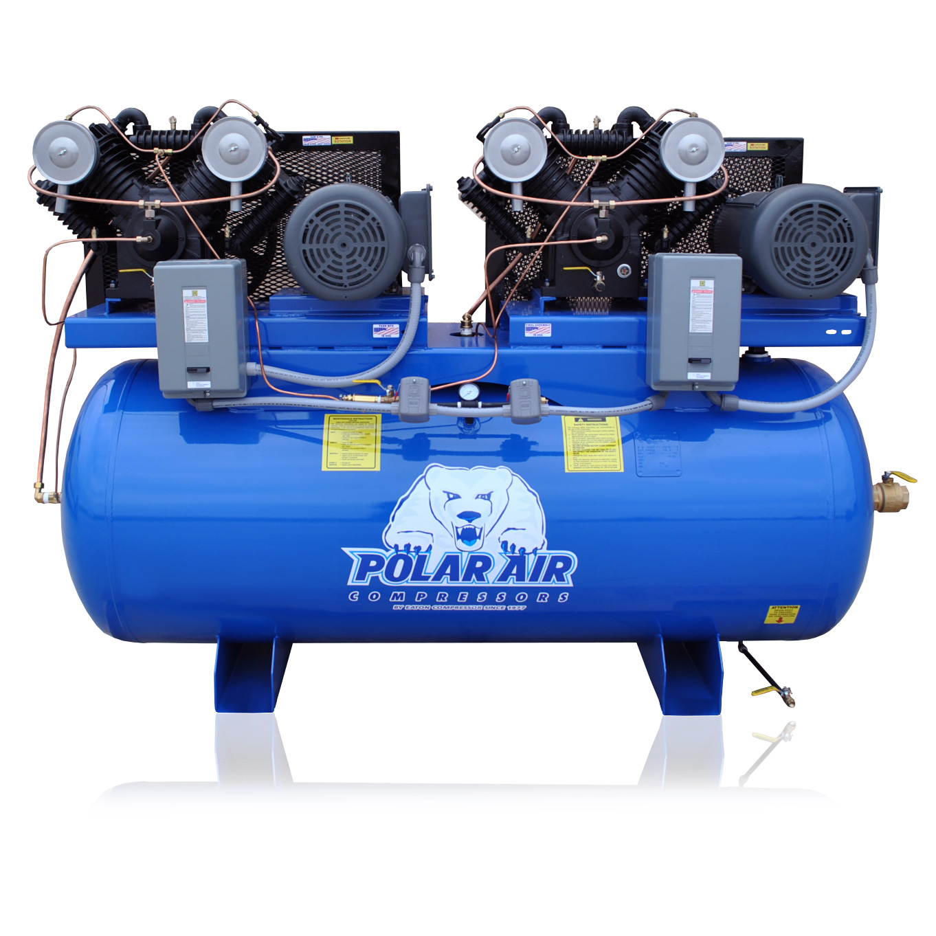 Rotary Screw Air Compressors | Industrial Air Compressors