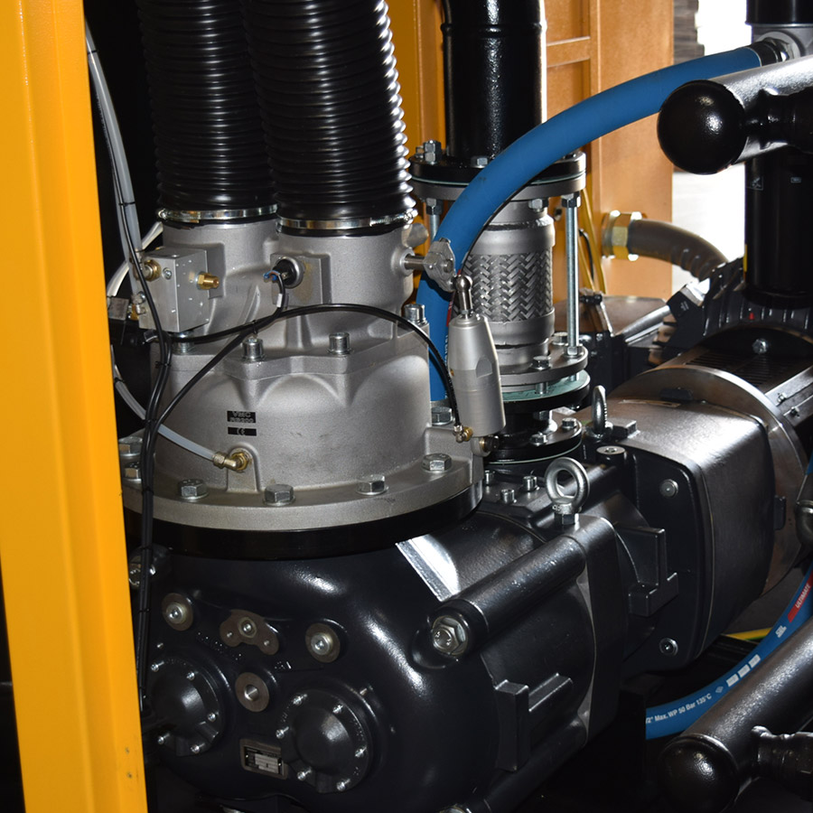 400 HP Rotary Screw Air Compressor, Gear Driven Direct Drive, Variable Speed