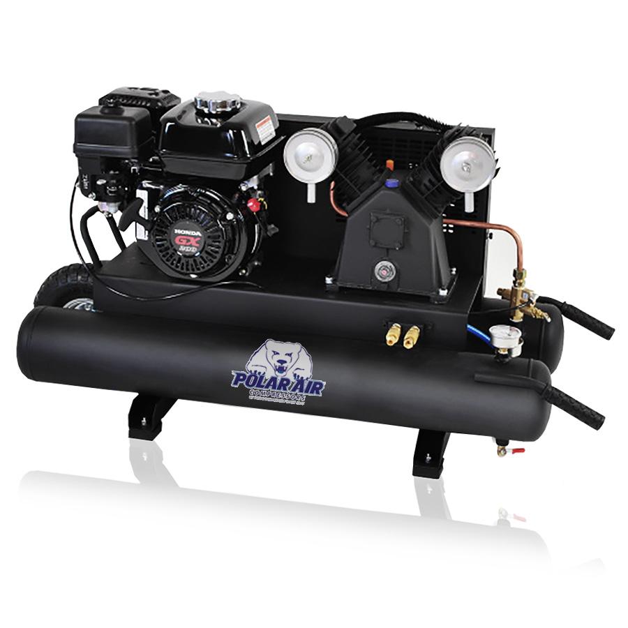 Portable Air Compressor Gas Powered