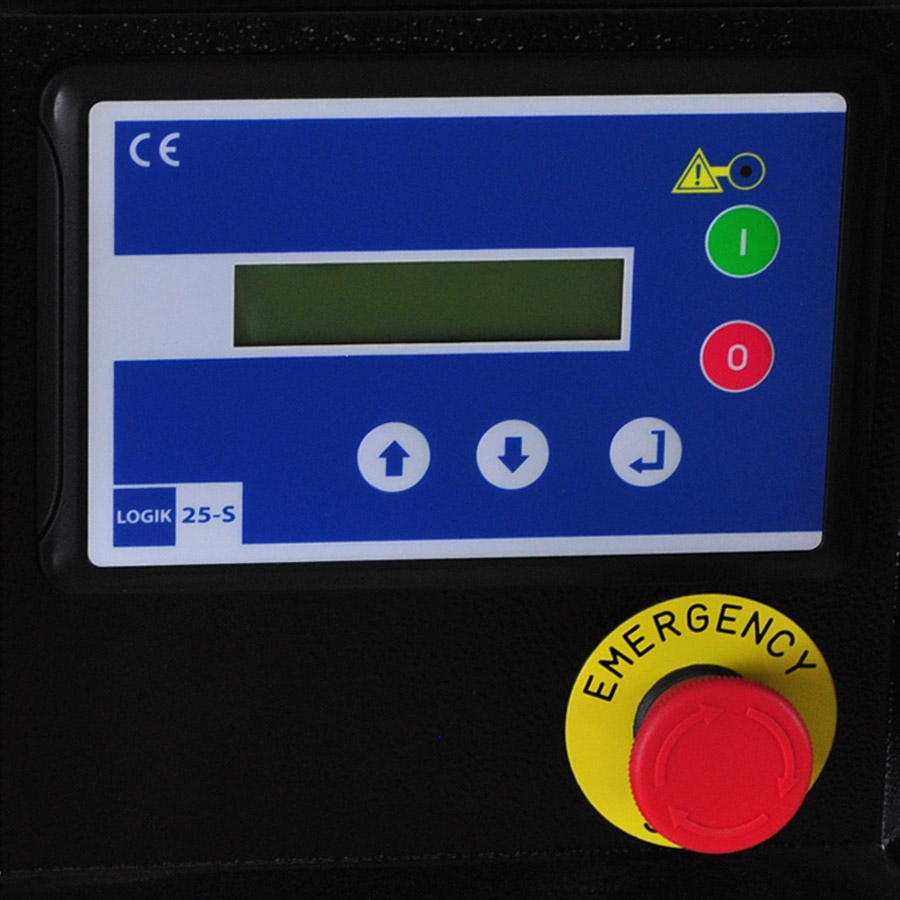 rotary screw control panel