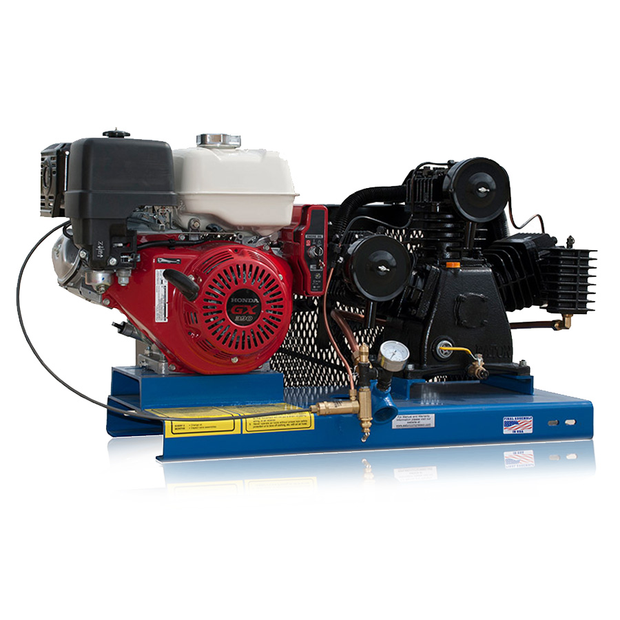 Skid Mounted Air compressor